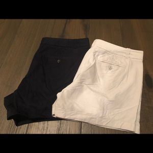 2 JCREW Chino City Fit Size 14 Navy Cream
